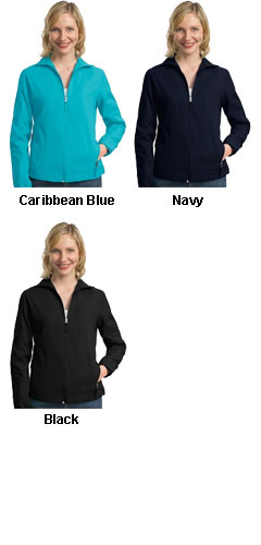 Ladies Full-Zip Wind Jacket - All Colors