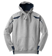 Custom Adult Sport-Tek® - Color-Spliced Pullover Hooded Sweatshirt Mens