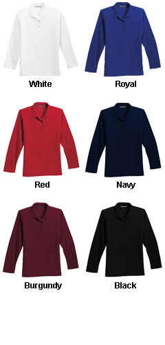 Ladies Long Sleeve Silk Touch™ Sport Shirt - All Colors