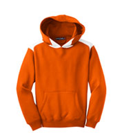 Youth Sport-Tek® Contrast Color Pullover Hooded Sweatshirt