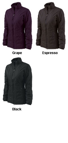 Womens Quilted Jacket by Charles River Apparel - All Colors