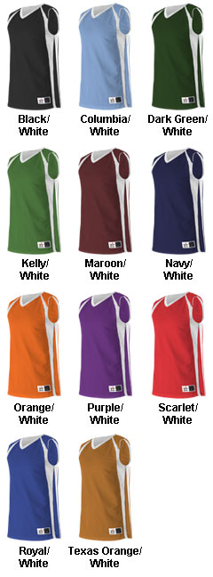 Youth Reversible Basketball Jersey by Alleson Athletic - All Colors