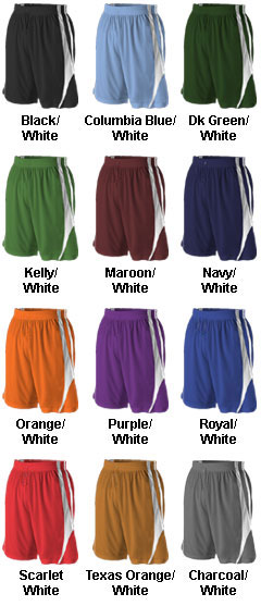 Youth  Reversible Basketball Short by Alleson - All Colors