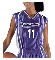Custom Womens eXtreme Dazzle Reversible Basketball Game Jersey