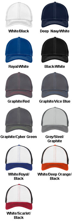 New Era® - Stretch Mesh Contrast Stitch Cap - All Colors