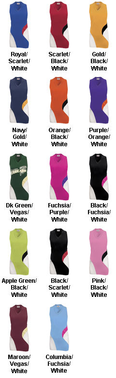 Womens Cyclone Sleeveless Racerback Jersey - All Colors