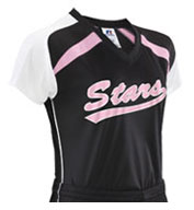 Custom Russell Athletic Ladies Performance Raglan Sleeve Jersey
