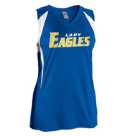Custom Womens Sleeveless Softball Jersey by Russell Athletic