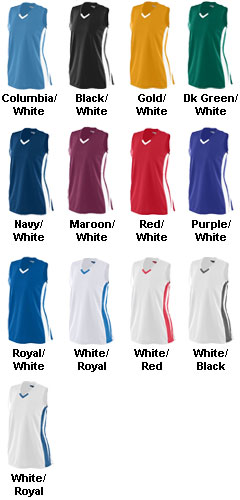 Ladies Wicking Mesh Powerhouse  Jersey - All Colors