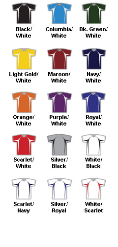Adult Color Block Baseball Jersey by Alleson - All Colors