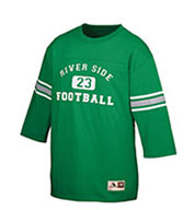Custom Youth Old School Football Jersey T-Shirt