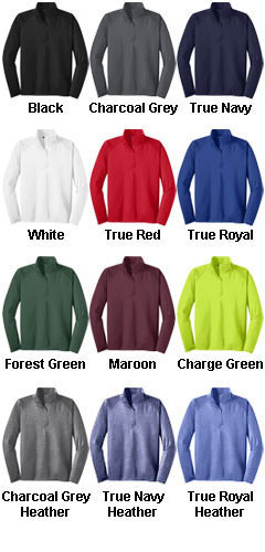 Sport-Wick� Stretch 1/2-Zip Pullover  - All Colors
