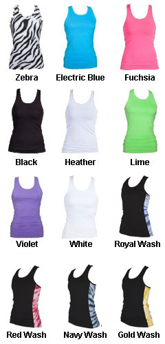 Juniors Practice Racer Tank - All Colors