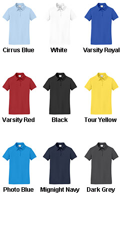 Nike Golf - Ladies Dri-FIT Pebble Texture Polo - All Colors