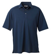 Custom Ashworth Mens Performance Wicking Piqué Polo