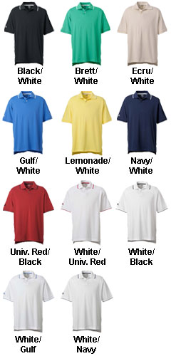 Adidas Golf Mens ClimaLite� Tour Jersey Short-Sleeve Polo - All Colors