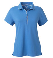 Custom Adidas Golf Womens ClimaLite® Tour Jersey Short-Sleeve Polo