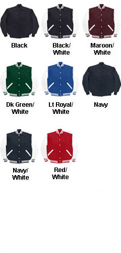 The JV Adult Varsity Jacket - All Colors