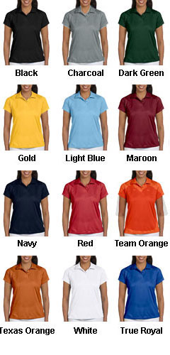 Ladies Polytech Polo - All Colors
