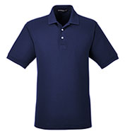 Custom Mens Pima Piqué Short-Sleeve Polo