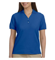 Custom Ladies Pima Piqué Short-Sleeve Y-Collar Polo