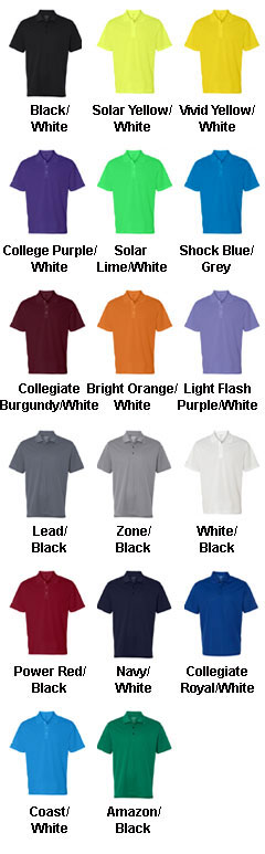 Adidas Golf Mens ClimaLite� Basic Performance Pique Polo - All Colors