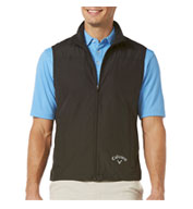 Custom Micro Fiber Full Zip Vest by Callaway Golf Mens