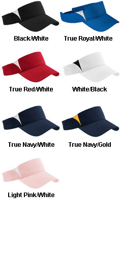 Sport-Tek� - Dry Zone� Colorblock Visor - All Colors