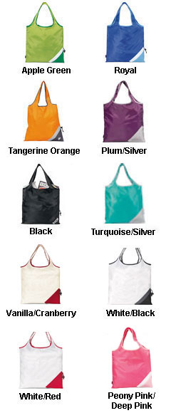 Latitudes Foldaway Shopper - All Colors