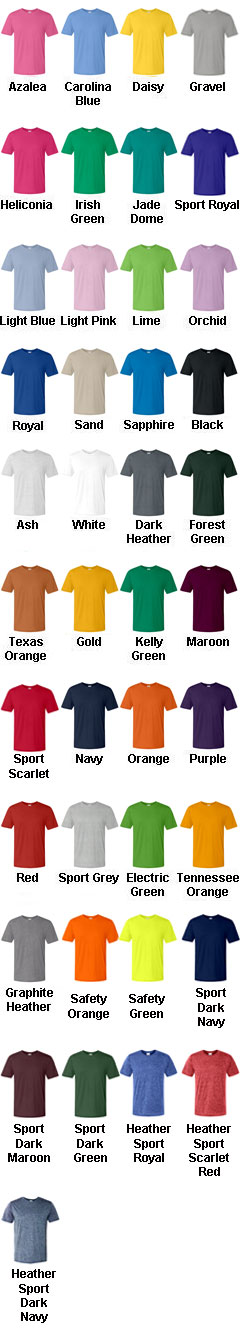 Gildan Adult DryBlend™ 50/50 Short-Sleeve T-Shirt - All Colors