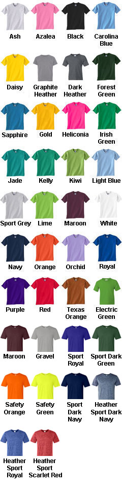 Gildan Youth 5.6 oz. DryBlend™ 50/50 T-Shirt - All Colors
