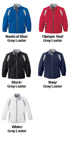 Mens Lightweight Color-Block Jacket - All Colors