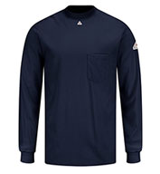 Fire Resistant Knit Long Sleeve T-Shirt by Bulwark