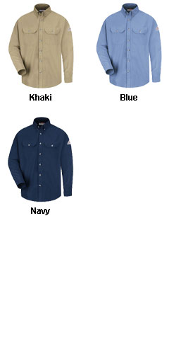 Bulwark Cool Touch® Deluxe Shirt with CAT2 Fire Rating - All Colors