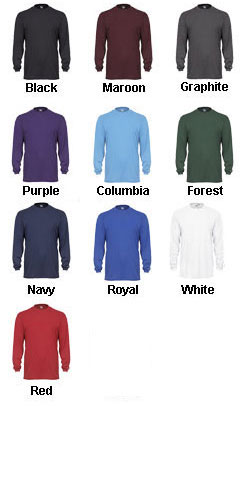 Adult Badger B-Tech Long Sleeve Tshirt - All Colors