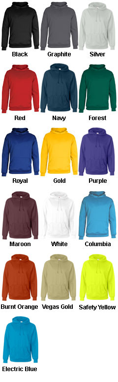 Badger Youth Moisture Management Hooded Sweatshirt - All Colors