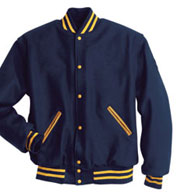 Custom All Wool Mens Letterman Jacket