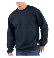 Flame-Resistant Heavyweight Crewneck Sweatshirt by Carhartt
