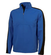 Custom Adult Quarter Zip Wicking Pullover by Charles River Apparel Mens