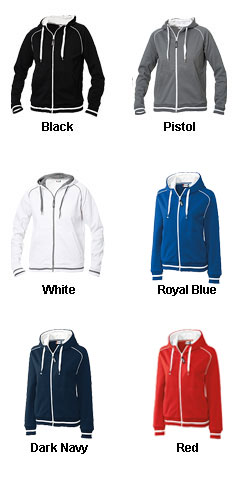 Ladies Grace Full Zip Sweatshirt - All Colors