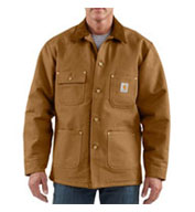 Custom Mens Duck Chore Coat/Blanket-Lined by Carhartt