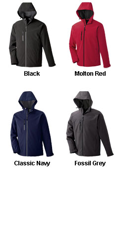 Mens Soft Shell Jacket With Hood - All Colors