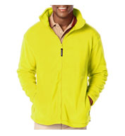 Custom Mens Full Zip Polar Fleece Jacket Mens