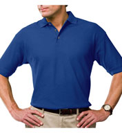 Custom Mens Stain Release Moisture Wicking Polo with Scotchgard Protection Mens