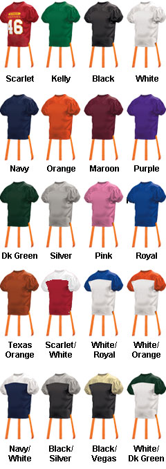 Adult Official Flag Football Jersey - All Colors