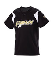 Youth Pickoff Two-Button Baseball Jersey
