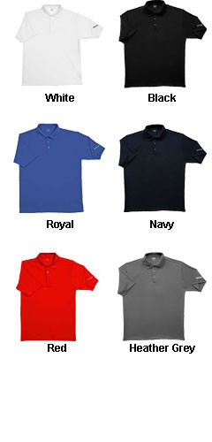 Reebok Playdry Solid Polo - All Colors