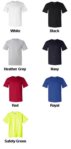 Anvil American Classic Pocket T-Shirt - All Colors
