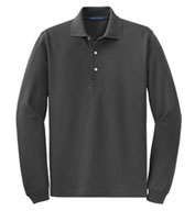Custom Rapid Dry™ Long Sleeve Polo Mens