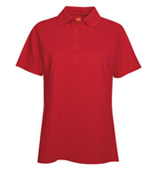 Custom Hanes Ladies 7 oz. ComfortSoft® Cotton Piqué Polo